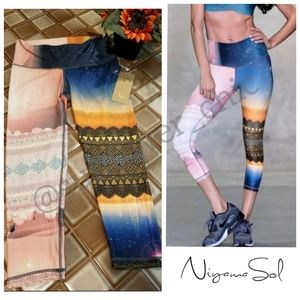 🆕️NWT Niyama Sol Beachcomber Yoga Leggings